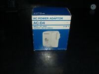 SONY AC - D4 POWER ADAPTOR