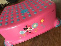 Children's Minnie Mouse step