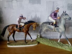 Hamilton Collection Horse sculptures by David Geenty