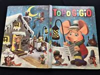 TOPO GIGIO CHRISTMAS ANNUAL 1968 FULL OF GREAT PUZZLES STORIES & COLOURING PAGES