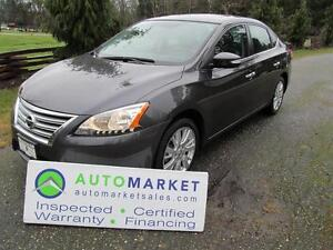 2013 Nissan Sentra SL, NAVI, LEATHER, MOONROOF