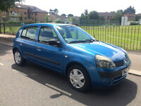 RENAULT CLIO 1.2 EXPRESSION, VGC, FSH, 5DRS, 39K.