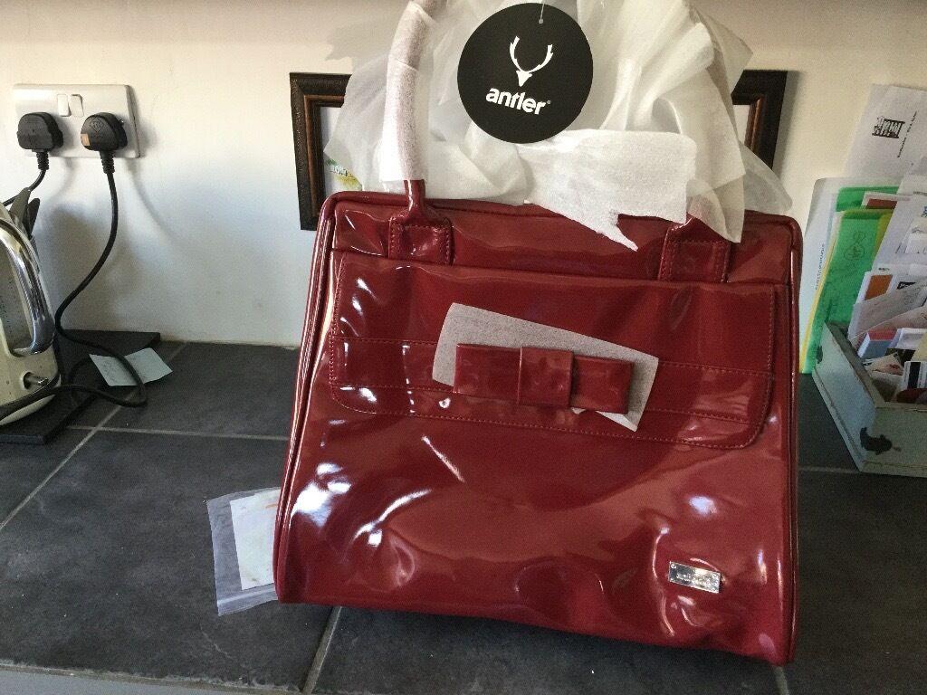Antler Red Handbag