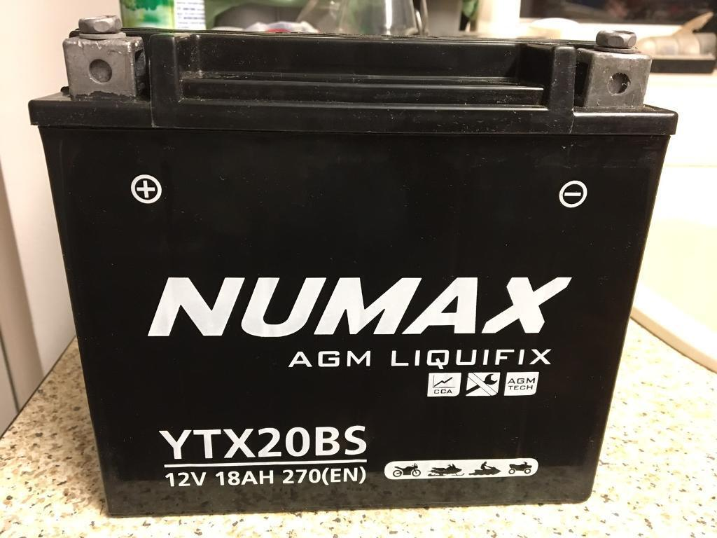 Motorcycle Battery YTX20-BS