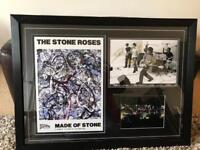 Stone Roses picture Signed