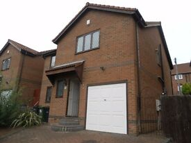 Well presented four bedroom detached house available for rent on South Hill Road within Gateshead