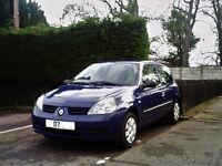 RENUALT CLIO 1.2 CAMPUS. 3 DOOR. 2007.