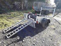 Car ramps galvanised