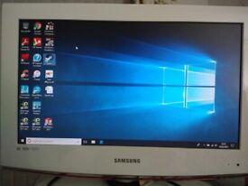 "Samsung 22"" TV/PC monitor"