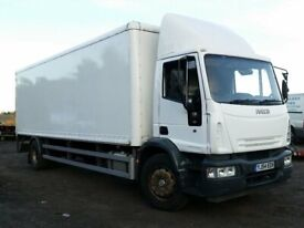 MAN AND VAN FULL HOUSE REMOVAL 7.5 TONNE TRUCK VAN HIRE DELIVERY WASTE CLEARANCE