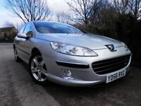 PEUGEOT 407 DIESEL 2.O , IN OUTSTANDING CONDITION AND DRIVE, 12 MONTHS MOT
