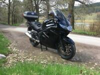 2012 Triumph Sprint GT black FSH complete with panniers