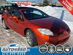 2008 Mitsubishi Eclipse GT-P, CONVERTIBLE, SPIDER, LEATHER, MAG,