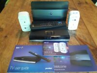 BT Infinity Smart Hub & YouView TV Box.