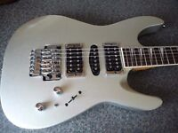 Aria Excel electric guitar Fender Strat style.