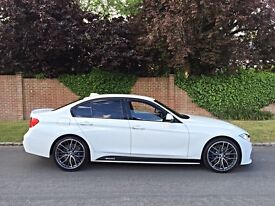 2015 64 REG F30 330D XDRIVE M SPORT M PERFORMANCE PACKAGE WHITE