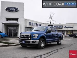 2015 Ford F-150 XLT, Ford factory certified, chrome pkg, ext war