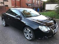 VW EOS Cabriolet Sports Convertible Automatic Diesel Low Mileage not Audi,Seat,Mercedes,Saab,Nissan