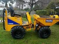 1 ton dumper and mini digger hire