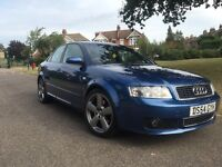 2005 Audi A4 s line 1.8 turbo 190 1 years mot new gearbox clutch 104000 clean car alloys refurbed