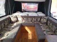 Conway Cruiser Platnuim Folding Camper / Trailer Tent