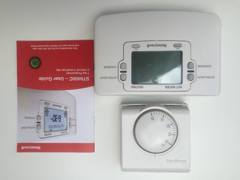 Honeywell st9400c heating programmer honeywell room thermostat honeywell st9400c heating programmer honeywell room thermostat all as new as converted to hive asfbconference2016 Image collections