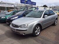 **REDUCED** 2003 03 FORD MONDEO DIESEL TDDI SUPERB DRIVE GREAT FUEL ECONOMY CHEAP WITH NEW MOT !!!!