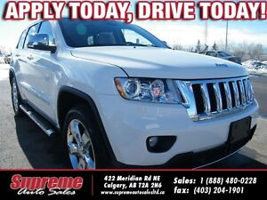 2012 Jeep Grand Cherokee OVERLAND NAVI/B.CAM/R.START
