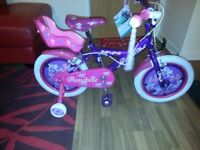 Girls 16inch Annabelle bike only used once immaculate condition