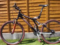 Specialized Stumpjumper FSR XC & 3 Sets of Bars & road tyres