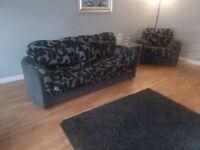 Large 3-2 Sofa + 1 Large Swivel Chair