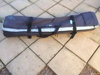 Snow and rock Wheeled Double ski / board bag RRP 85 pounds 170 x 35 x 16 app