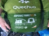 QUECHUA 6.2 Xl TENT
