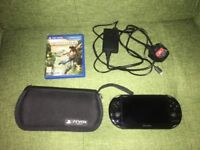 PRICE REDUCED - PS VITA SLIM + UNCHARTED GAME + HIGH QUALITY COVER/CASE + 8GB EXTERNAL MEMORY CARD