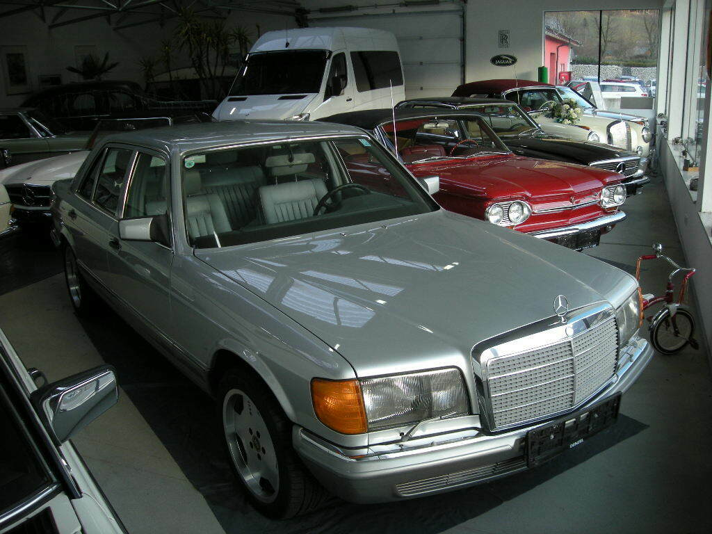 Mercedes 280 SEL W126