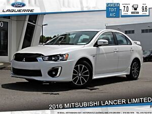 2016 Mitsubishi Lancer LIMITED**TOIT*CAMERA*CRUISE*A/C**