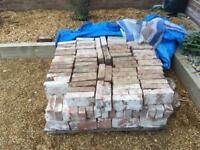 200 red reclaim bricks