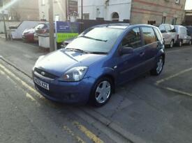 FORD FIESTA 1.4 Zetec 5dr [Climate] (blue) 2006