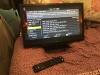 """Technically 21.5"""" led TV with built in freeview"""