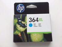HP 364XL Cyan ink cartridge, new, unopened box
