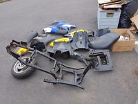 Scooter parts for spares job lot 50cc