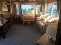 Static Mobile Home available for rent 2019 Open @ Portrush. Sleeps 6- 5 mins walk to venue.