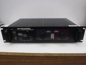 Pyramid 600W Power Amplifier. We buy and sell DJ Equipment. 100221 SR917404