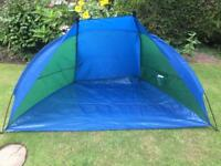 Play tent hardly used with carrying case