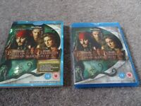 Blu-Ray Disc - Pirates of the Caribbean