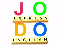 Learn English with fully qualified and experienced language teacher.