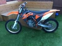 Ktm 450 sxf 2013 excellent condition only done 28 hours
