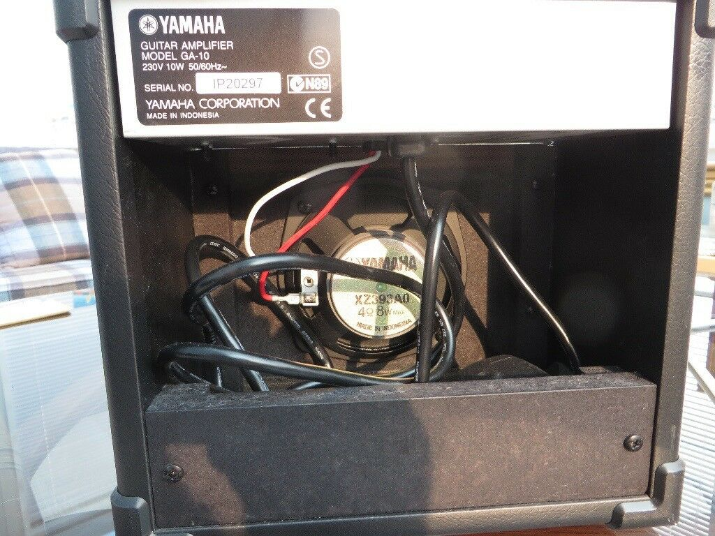 Yamaha Ga 10 Guitar Practice Amp Vintage Retro Wiring Amplifier In East Kilbride Glasgow Gumtree