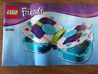 Lego Friends 40156 Butterfly storage box