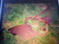 ferguson plough single furrow